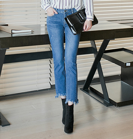 952 denim pants (2color)