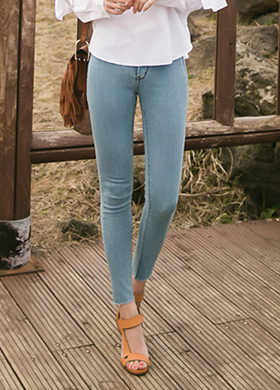 337 skinny jeans (2color)